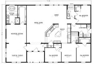 small open ranch floor plans modern home design and