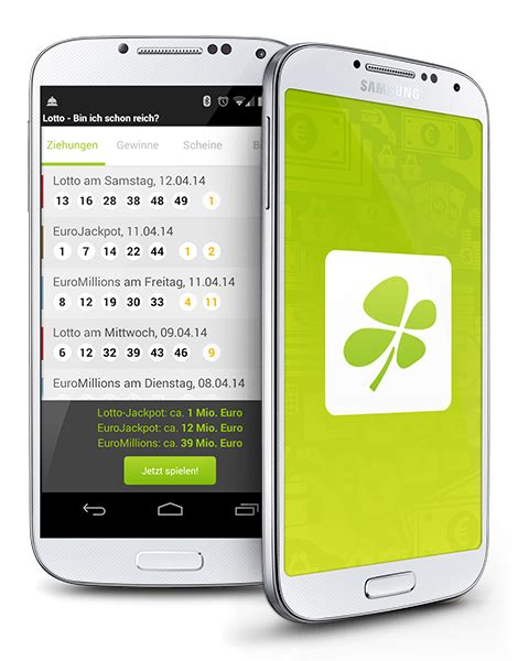 lottery scanner app android bin ich schon reich die lotto app f 252 r android