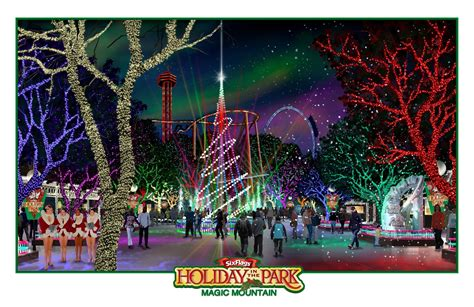 newsplusnotes six flags magic mountain announces holiday