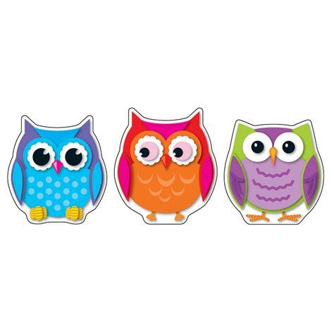 colorful owls owl decor classroom theme teachersparadise