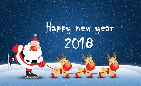 happy new year 2018 hd greeting cards for friends