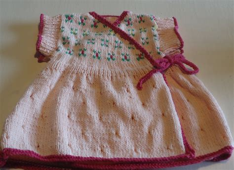 Baby Dress Pattern Knit This Sweet Dress With Our Free