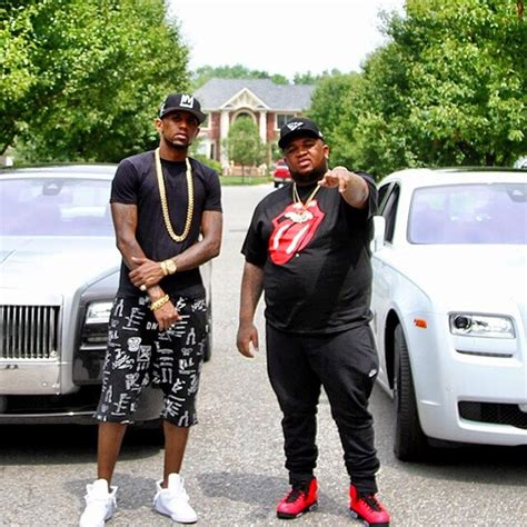 2 rolls royce ghosts and 2 rappers fabolous and dj