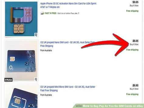 How To Pay With Ebay Gift Card - how to buy pay as you go sim cards on ebay 4 steps