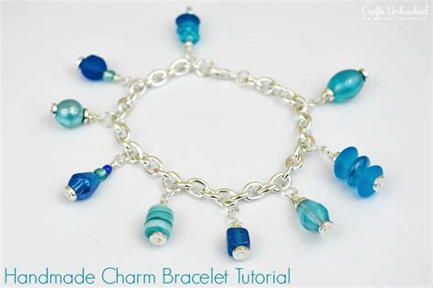Handmade Beaded Bracelets How To Make - charm bracelet tutorial a simple and project