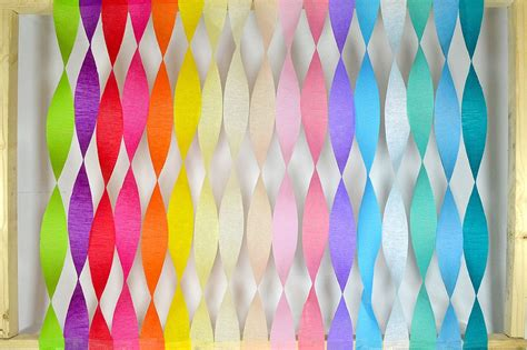 Birthday Decorations With Crepe Paper by Decorating With Crepe Paper Streamers Birthday