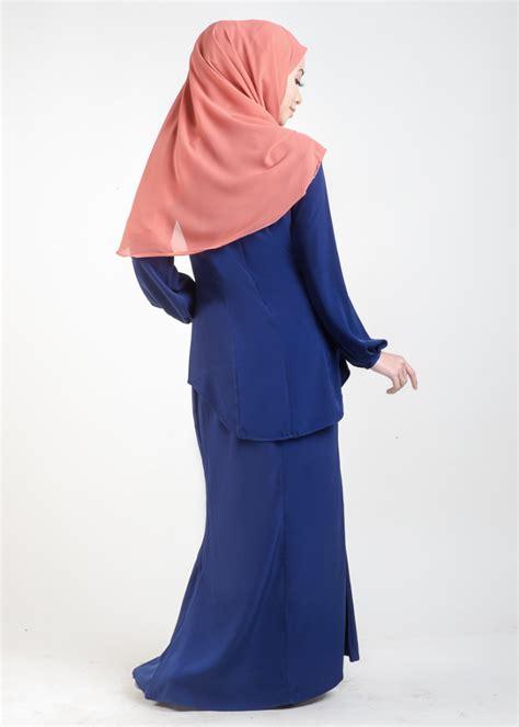 Baju Kurung Moden Electric Blue baju kurung moden asyura royal blue lovelysuri