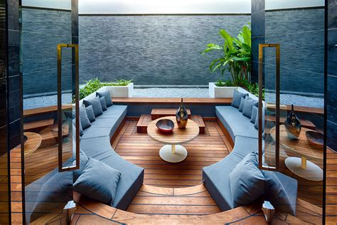 outdoor wohnzimmer 25 modern living rooms with cool clean lines