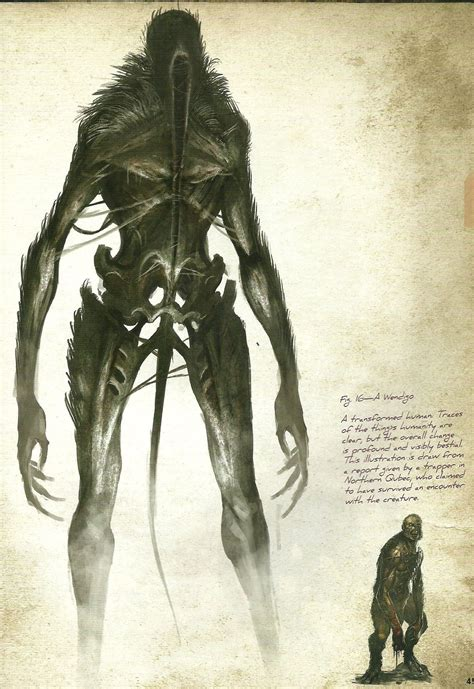 Ithaqua Lovecraft In 2019 Creature 3d Creatures Cthulhu T