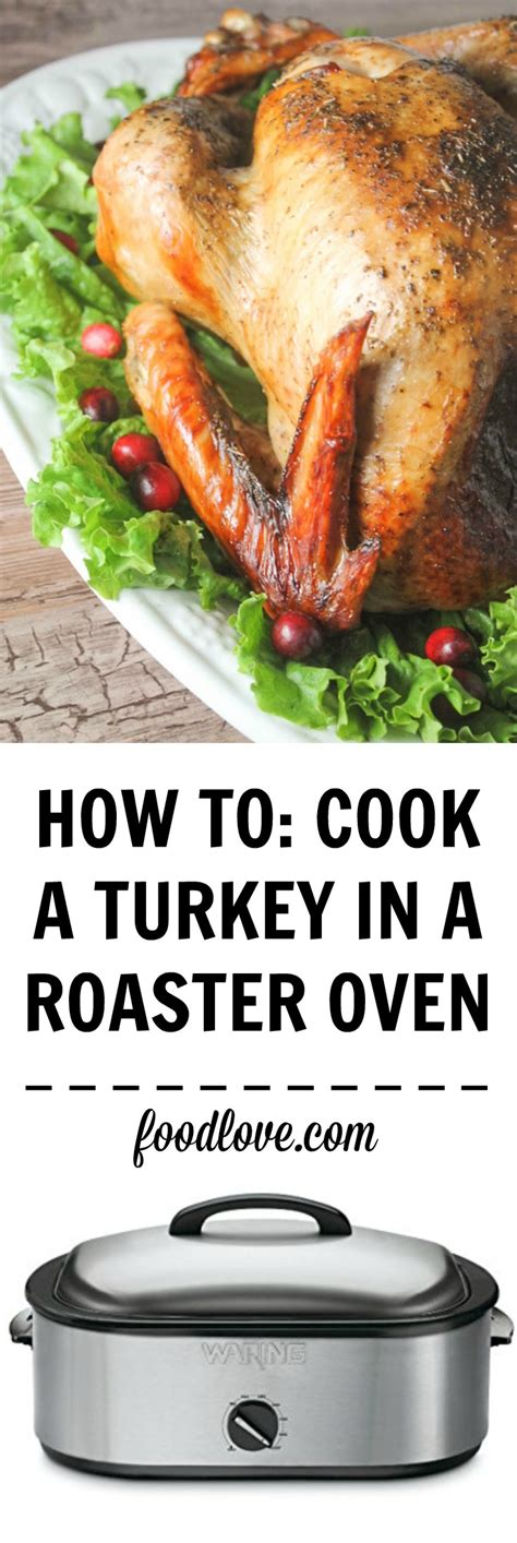 how long to cook a turkey in an electric roaster