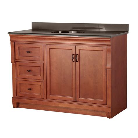 foremost naples 49 in w x 22 in d vanity in warm