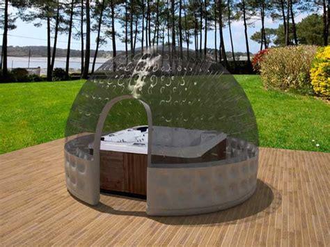 Spa En Bois Exterieur Prix by Abri Spa Ext 233 Rieur Gonflable