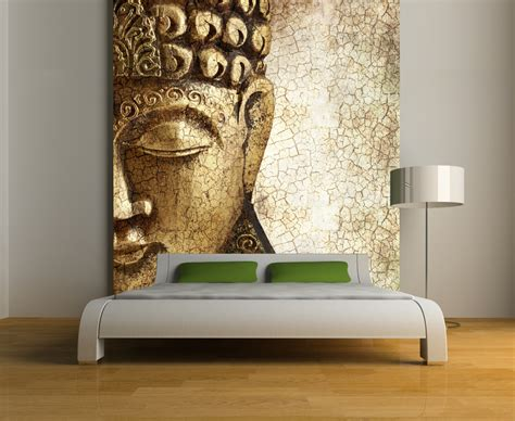repositionable wall murals buddha wall mural repositionable peel and stick wallpapers