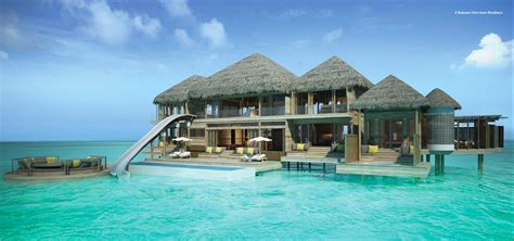 house over water surfs up in the maldives ocean maldives and villas