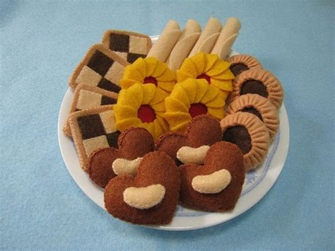 Kerajinan Flanel Cookie Set 17 best images about felt biscuit on brooches tea cups and felt crafts