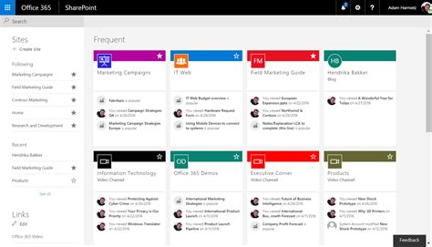 home page design sles the future of sharepoint search and discovery search