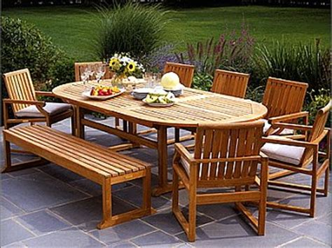 backyard table and chairs the best outdoor furniture for your deck or patio