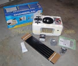 chamberlain belt drive garage door opener review
