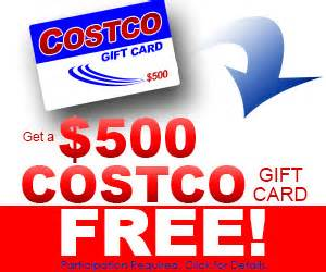 Where To Get Free Gift Cards Online - get a free 500 costco gift card get a free stuff online free stuff free coupon