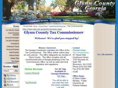 Glynn County Property Tax Records Glynn Records Glynn County Records