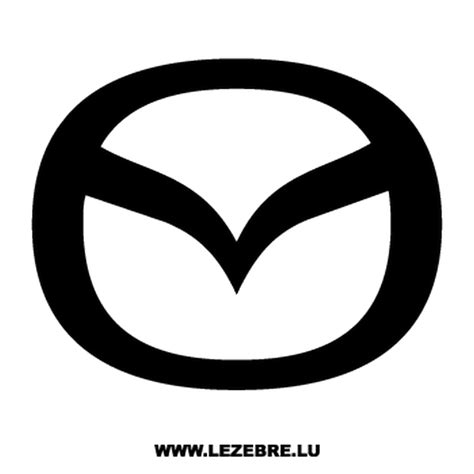 mazda logo png autocollant mazda logo nouveau