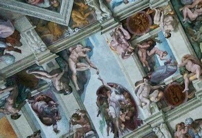 sistine chapel ceiling creation of adam travelling with the saints in italy awakening