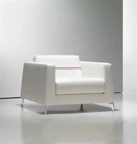 Modern White Lounge Chair by White Leather Lounge Chair
