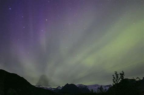northern lights august alaska and canada