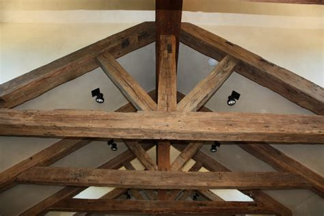 wood beam ceiling hewn ceiling beams for a rustic historical look
