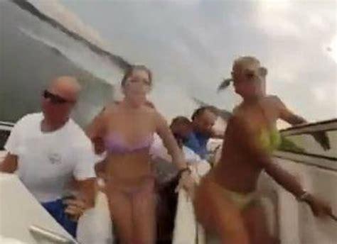 boat crash viral video crazy lake of the ozarks boat crash footage goes viral