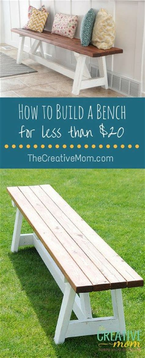 how to build a bench seat outdoor 25 best ideas about wooden benches on pinterest wooden