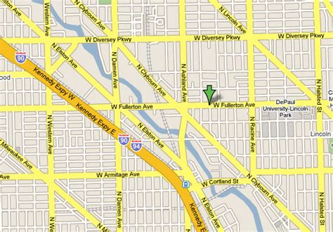 chicago map lakeview cosmetic dentist in lincoln park lakeview depaul