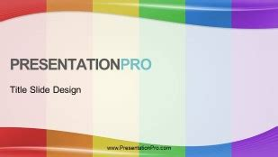 Presentationpro Waves Rainbow Vertical 01 Widescreen Free Lgbt Powerpoint Templates