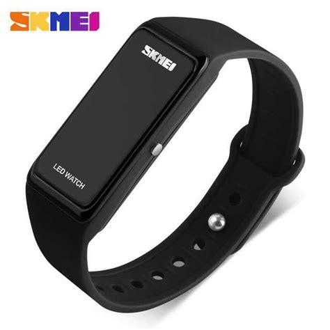 Jam Tangan Pria Rubber jual jam tangan pria skmei digital sport rubber wristband
