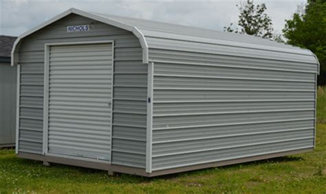 Metal Shed Covers Nichols Portable Buildings Taylorsville