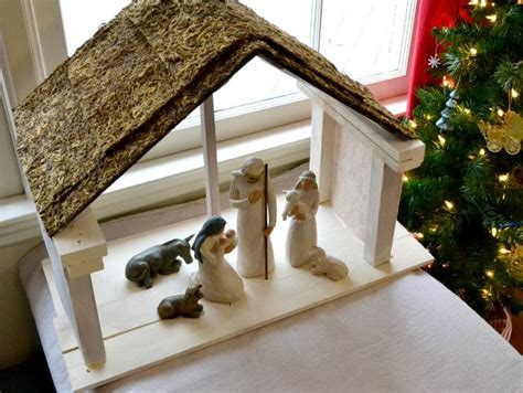 diy nativity stable diy nativity nativity stable