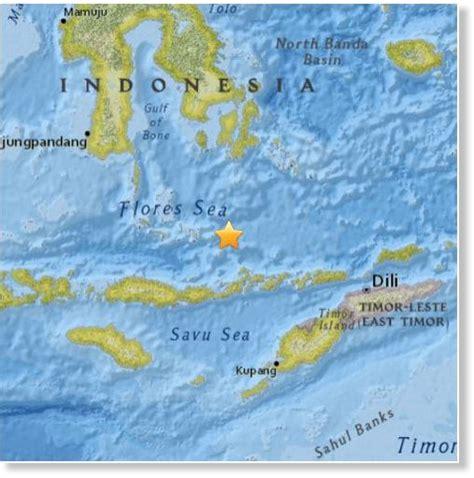 earthquake flores usgs earthquake magnitude 7 0 132km n of nebe