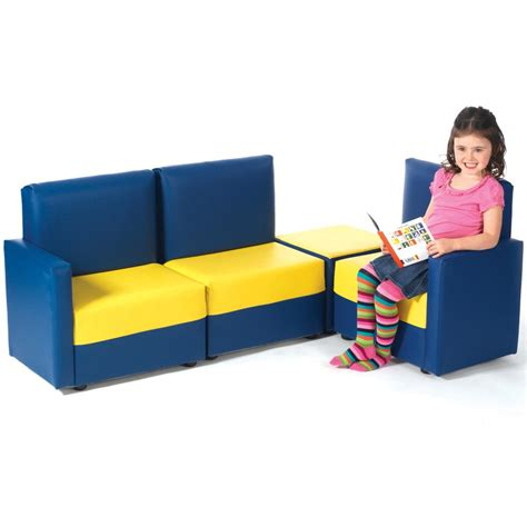 sofa for children children s corner sofa set from early years resources uk