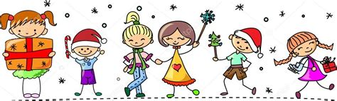 dibujos ni241os en navidad dibujos animados navidad ni 241 os archivo im 225 genes vectoriales 169 virinaflora 37446799