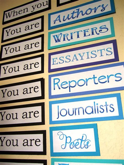 ela classroom themes the inspired classroom quot you are quot for my middle school