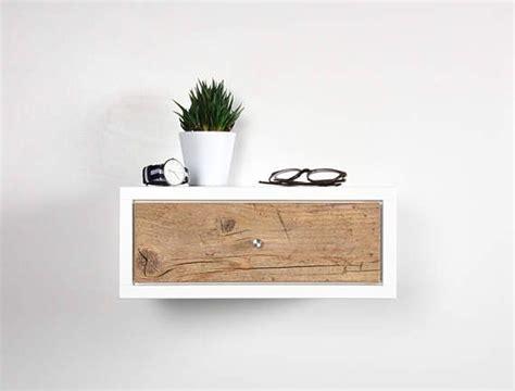 table de nuit suspendue table console chevet suspendu inspir 233 mid century design