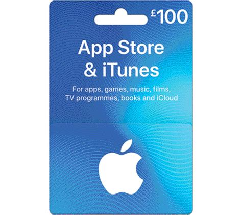 Can You Get Itunes Gift Cards Online - buy itunes 163 100 app store itunes gift card free delivery currys