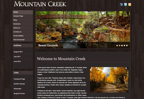themes wordpress nature the best free wordpress themes for november 2013