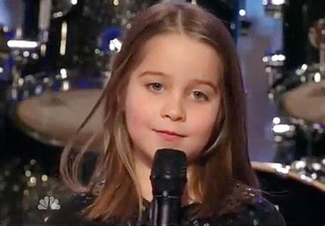 6 year old aaralyn screams her original song zombie skin six year old screams about zombies on america s got talent