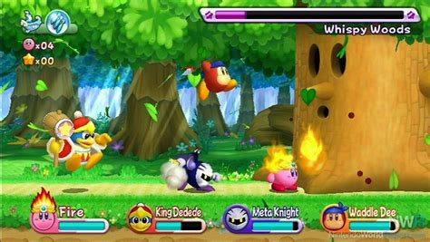 best 4 player wii kirby s return to land on preview on