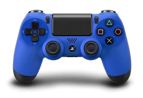 Kaos Gadget Playstation 4 Design playstation 4 wave blue dualshock 4 controller available fall 2014 in us