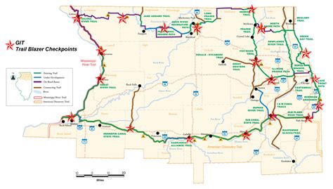grand illinois map greenways and trails