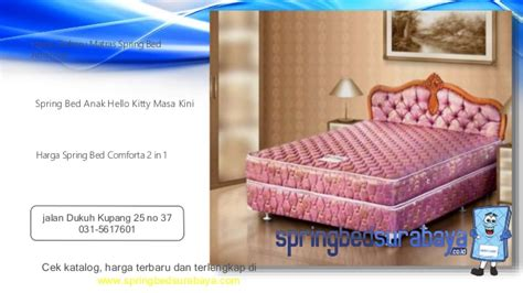 Kasur Ranjang Bigland 2 In 1 Sorong Hello Lisensi Best Friend bed sorong anak