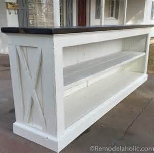 how to sideboard remodelaholic build a farmhouse style tv console sideboard