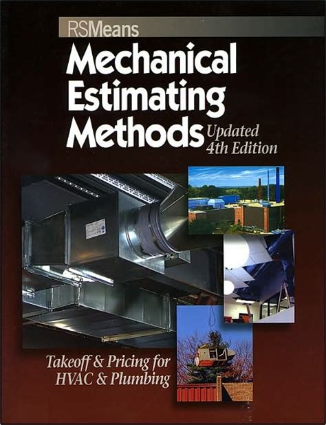 Mechanical Electrical Plumbing Books by Mechanical Estimating Methods Takeoff And Pricing For